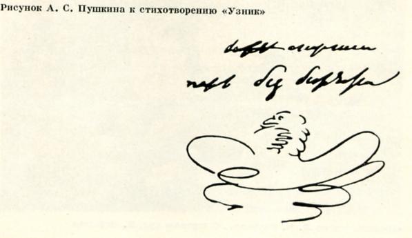 Рисунки Пушкина в Бессарабии
